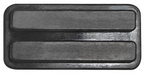 1957-1958 Cadillac Brake Pedal Pad - Parking Release, by Steele Rubber Products