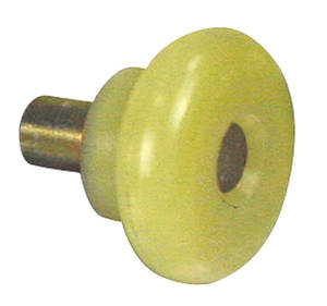 "1964 GTO Window Guide Roller - Quarter Window 11/16"" RD, 5/8"" OD"