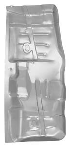 1964-67 Cutlass/442 Floor Pan, Steel (Half Section)