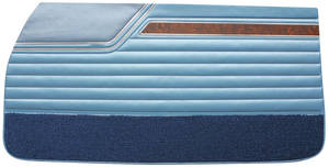 Door Panels, 1970 Reproduction Rear, Cutlass S, 4-4-2 Holiday & Sports Coupe (Coupe)