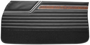 Door Panels, 1970 Reproduction Front, Cutlass S, 4-4-2 Holiday & Sports Coupe (Sedan)