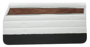 Cutlass Door Panels, 1971 Reproduction Front, Coupe