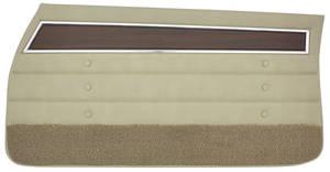 Cutlass Door Panels, 1972 Reproduction Front, Sedan
