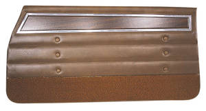Cutlass Door Panels, 1972 Reproduction Front, Coupe