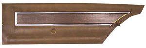 Cutlass Door Panels, 1972 Reproduction Rear, Coupe