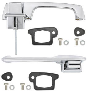 1966-1966 Cadillac Door Handle Kit, Outside Front, by RESTOPARTS