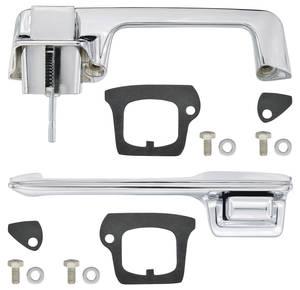 1967-68 DeVille Door Handle Kit, Outside Front (2-Door Coupe & Convertible, Except Eldorado)