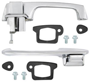 1967-1970 Cadillac Door Handle Kit, Outside Front (Eldorado), by RESTOPARTS