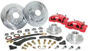 "1954-1955 Cadillac Brake Wheel Kit, 13"" (Disc), by CPP"