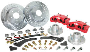 "1957-1960 Cadillac Brake Wheel Kit, 13"" (Disc), by CPP"