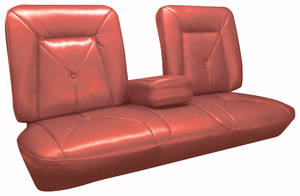 DeVille Seat Upholstery, 1965 (Front Split Bench with Armrest)