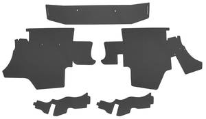 1959-60 Cadillac Trunk Compartment Board Kit (60 Special Fleetwood) Five-Piece
