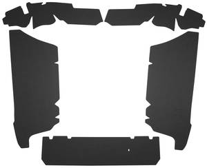 1961-62 Cadillac Trunk Compartment Board Kit (Except Convertible & Commercial Chassis) Five-Piece