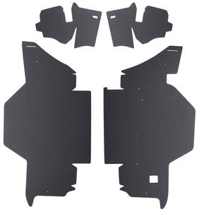 1961-62 Cadillac Trunk Compartment Board Kit (Convertible) Four-Piece