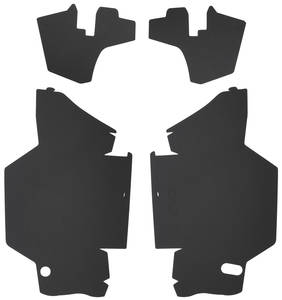 1963-1964 Cadillac Trunk Compartment Board Kit (Convertible) Four-Piece