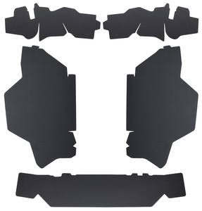 1965-1966 Cadillac Trunk Compartment Board Kit (Except Convertible & Commercial Chassis) Five-Piece