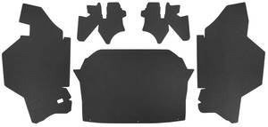 1967-68 Cadillac Trunk Compartment Board Kit (Convertible) Five-Piece