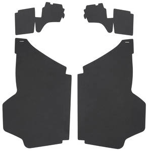 1969-1970 Cadillac Trunk Compartment Board Kit (Coupe DeVille) Four-Piece