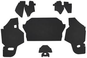 1969-70 Cadillac Trunk Compartment Board Kit (Convertible) Six-Piece