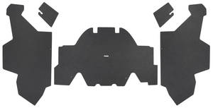 1969-70 Cadillac Trunk Compartment Board Kit (Eldorado) Five-Piece