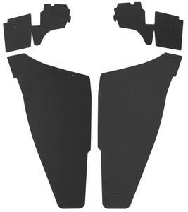 1974-76 Cadillac Trunk Compartment Board Kit (2-Door Hardtop - Except Eldorado) Four-Piece