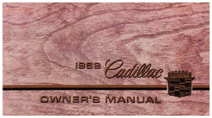1969 Cadillac Owners Manual, Authentic