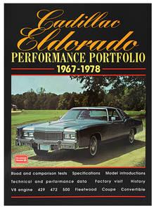 1967-1978 Cadillac Cadillac Eldorado Performance Portfolio 1967-78