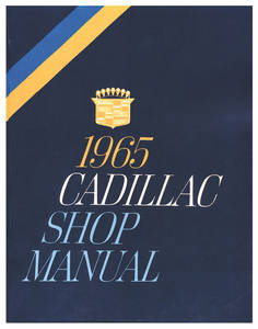 1965-1965 Cadillac Chassis & Shop Service Manual