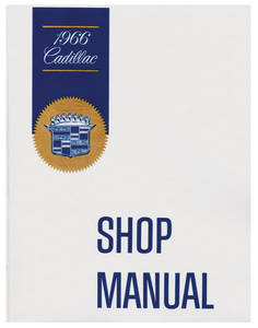 1966-1966 Cadillac Chassis & Shop Service Manual