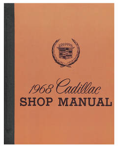 1968-1968 Cadillac Chassis & Shop Service Manual