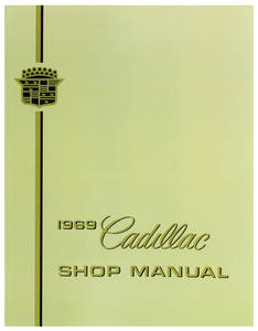 1969-1969 Cadillac Chassis & Shop Service Manual