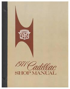 1971-1971 Cadillac Chassis & Shop Service Manual
