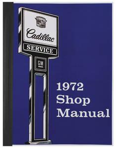 1972-1972 Cadillac Chassis & Shop Service Manual