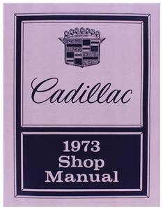 1973-1973 Cadillac Chassis & Shop Service Manual
