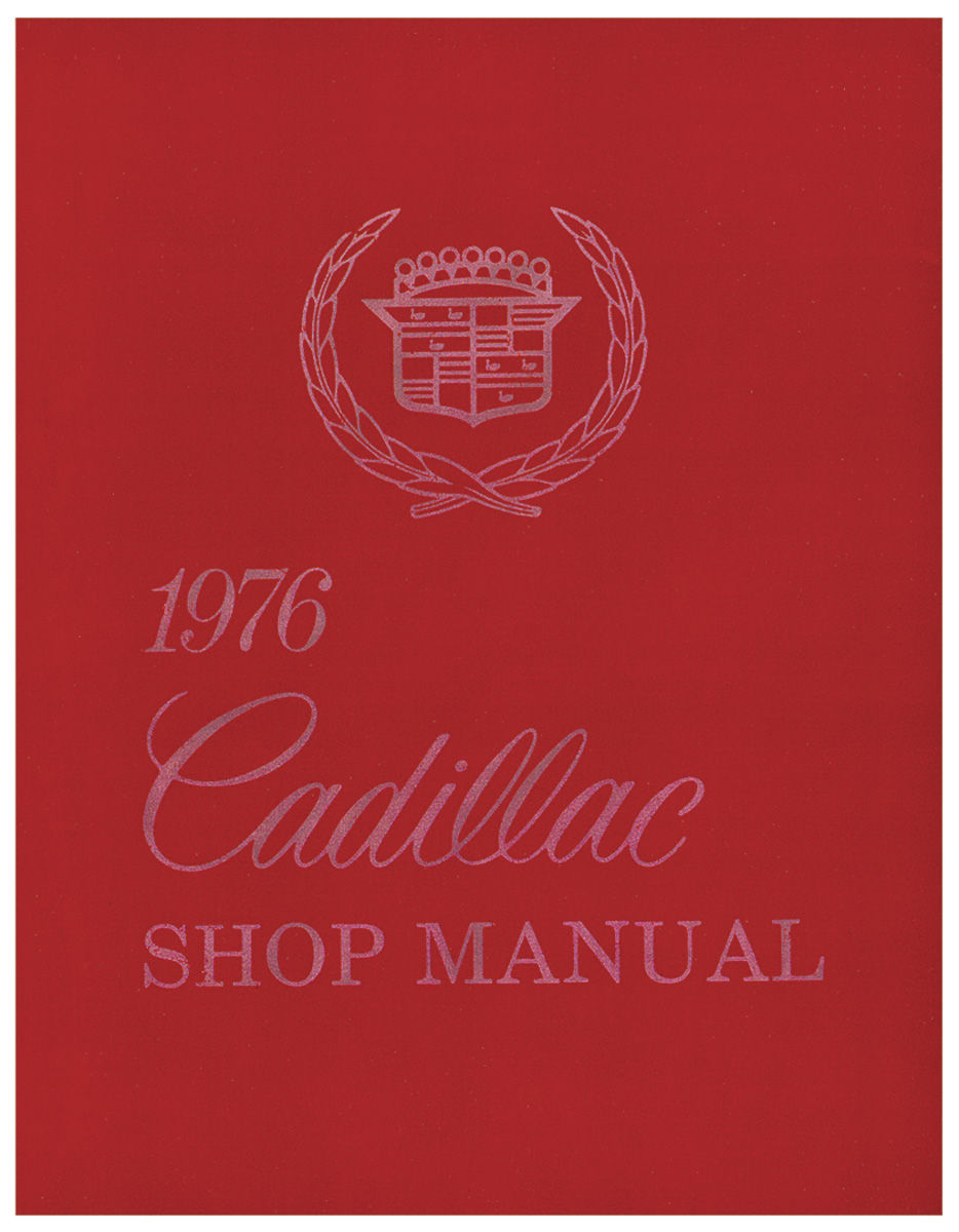 Photo of Chassis & Shop Service Manual (Except Seville)