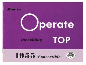 1955-1955 Cadillac Convertible Top Manual (Except Fleetwood)