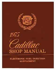 1975-1975 Cadillac Fuel Injection Manual, 1975 Cadillac Electronic