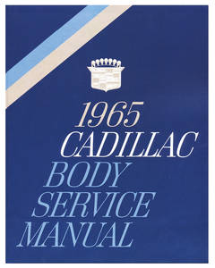 1965-1965 Cadillac Fisher Body Manuals