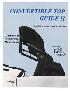 1971-1976 Cadillac Convertible Top Guide II