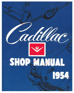 1954-1955 Cadillac Chassis & Shop Service Manual