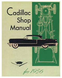 1956-1956 Cadillac Chassis & Shop Service Manual