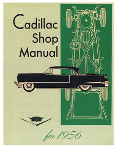 1956 Cadillac Chassis & Shop Service Manual