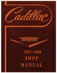 1957-58 Cadillac Chassis & Shop Service Manual (Except Eldorado Brougham)