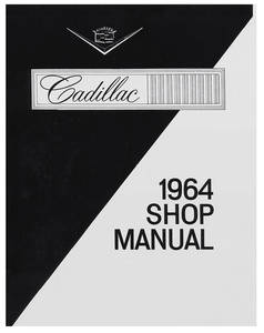 1964-1964 Cadillac Chassis & Shop Service Manual