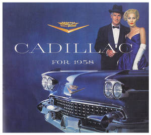 1958 Cadillac Sales Brochure (28 Pages)