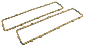 1954-57 Cadillac Valve Cover Gaskets (331/365 - Up To Engine #7150) Cork