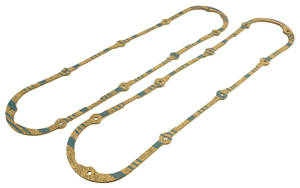 1968-1976 Cadillac Valve Cover Gaskets (472/500) Cork