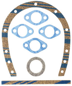 1954-1956 Eldorado Timing Chain Cover Gaskets (331/365 with Felt Seal - Up To Engine #103793)