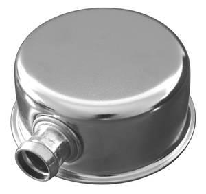 "1954-1967 Cadillac Oil Filler Cap (Cadmium-Plated, with 3/8"" Vent Tube)"