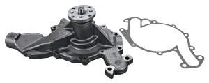 1973-1973 Cadillac Water Pump, V8 (472, 500 - with Two Groove Power Steering Pulley)